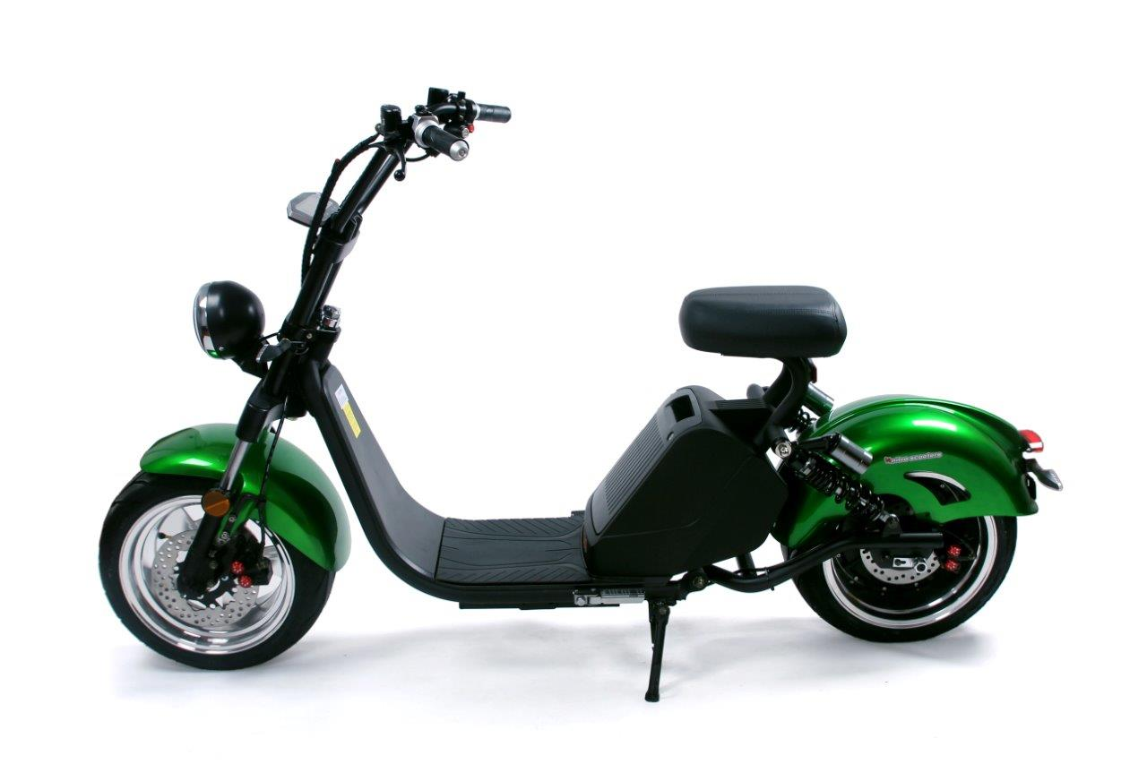Nitro scooters Classic 3500 Plus - zelená metal